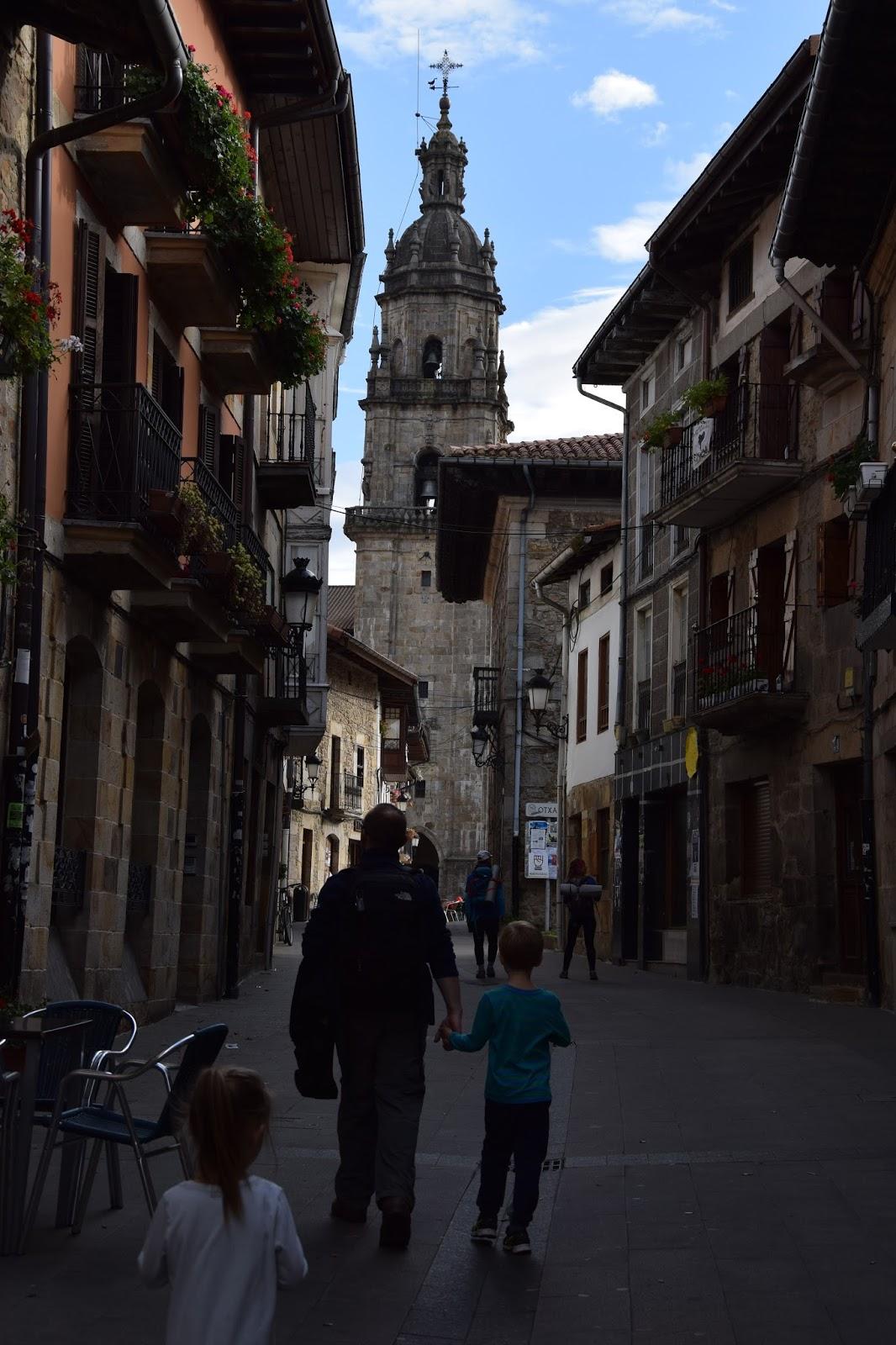 Kraj Basków trekking z dziećmi Otxandio