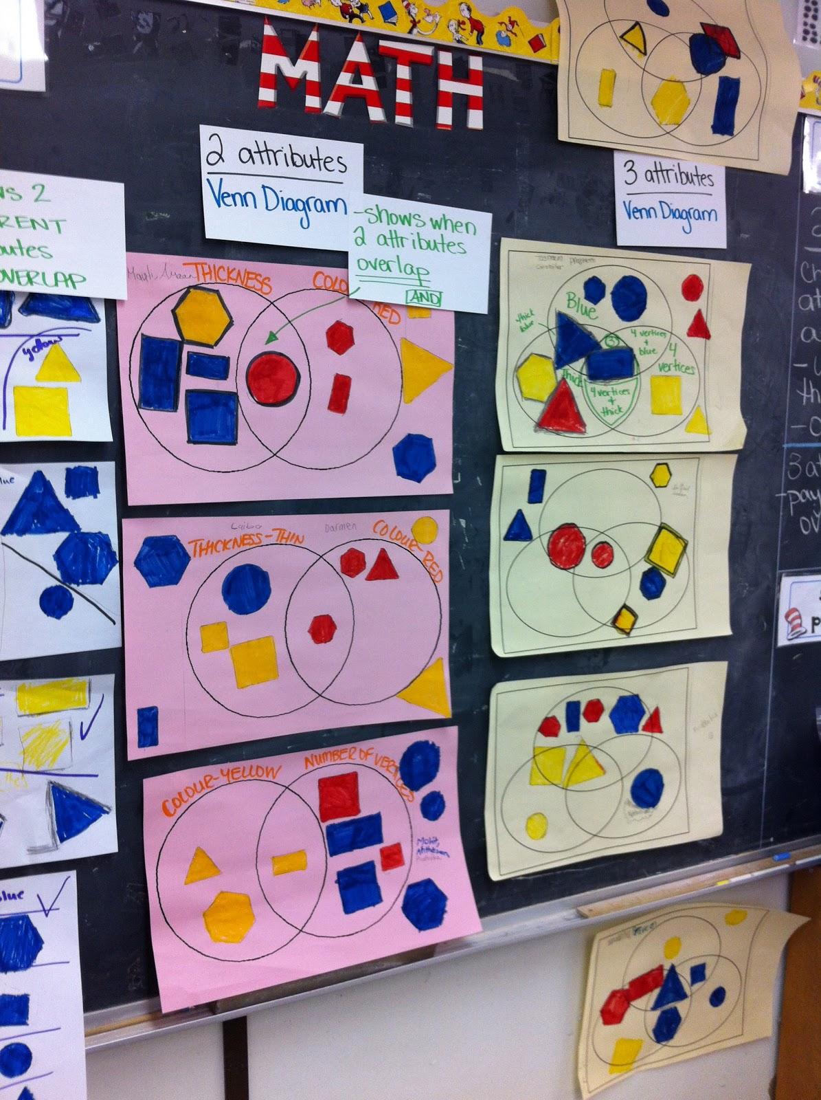 Sorting 3d Shapes Venn Diagram Wiring For Defy Gemini Oven Thinking Of Teaching By Two And Three Attributes