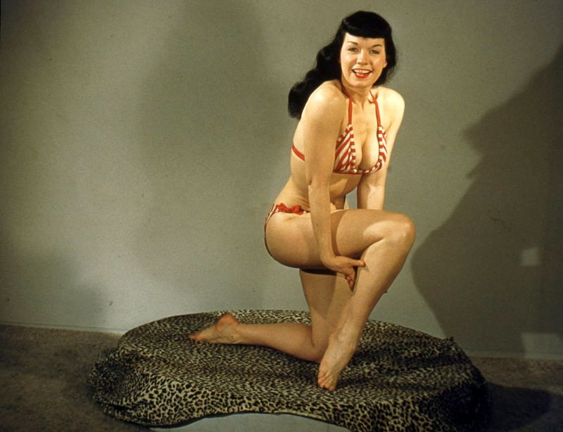 bettie page color # 46