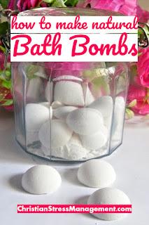 How to make natural bath bombs