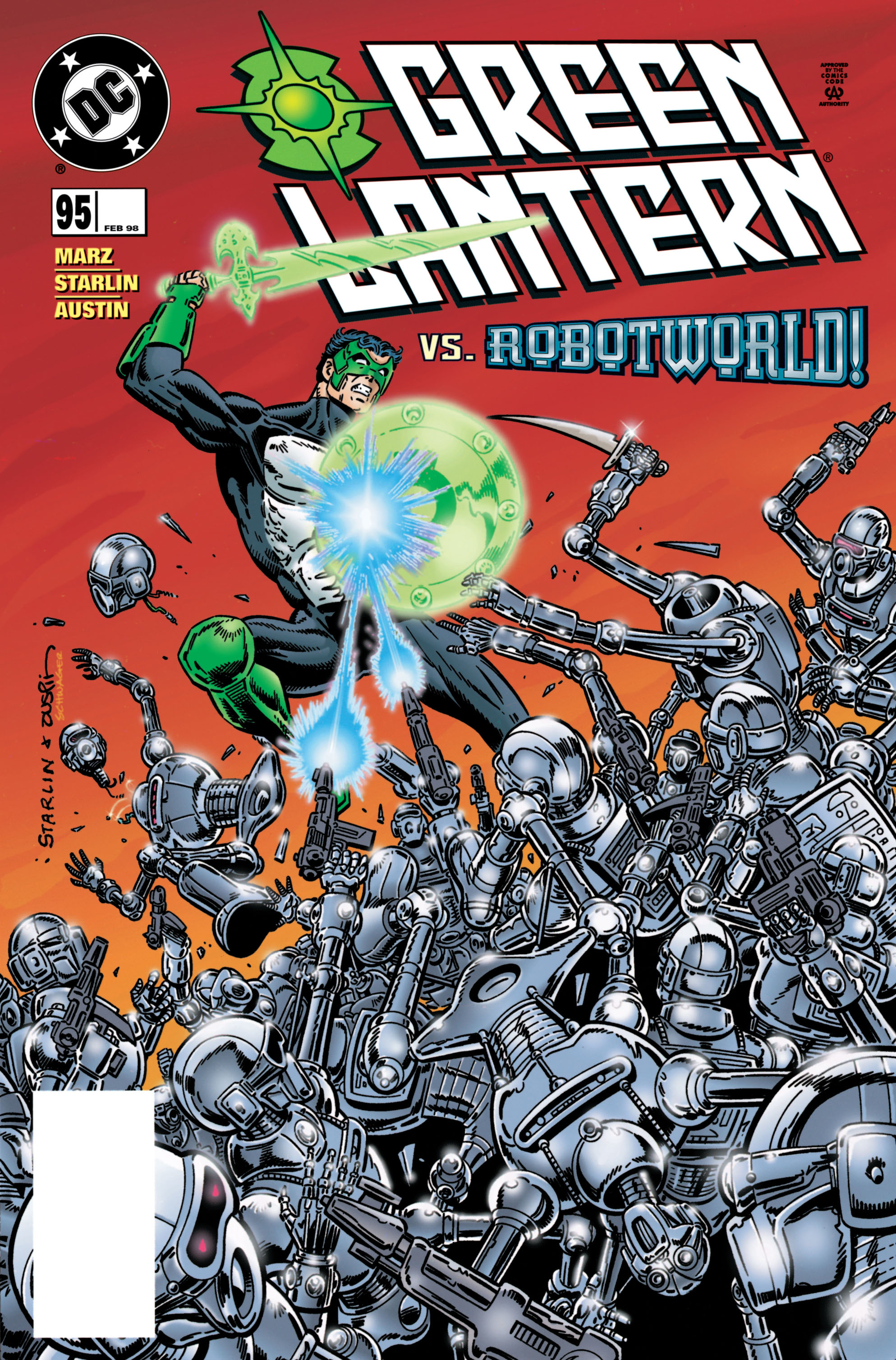 Green Lantern (1990) 95 Page 1