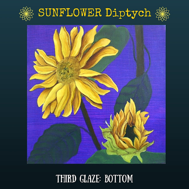 Third color glaze BOTTOM Sunflower