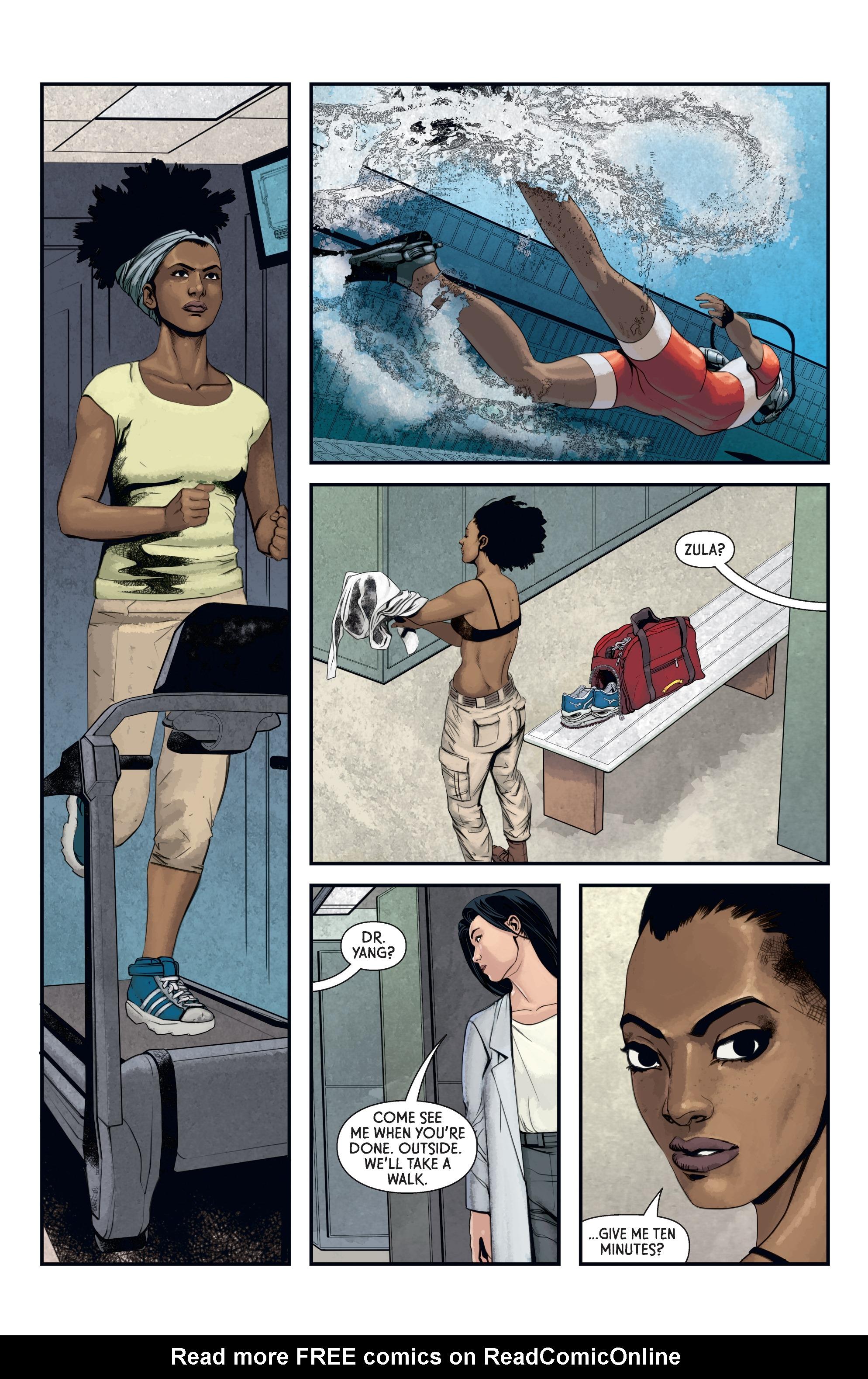 Read online Aliens: Defiance comic -  Issue #12 - 17