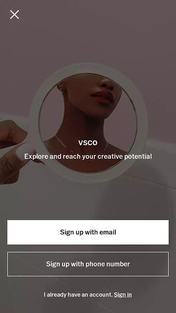 Hướng dẫn đăng ký tài khoản vsco nhanh chóng, cách tài khoản Vsco