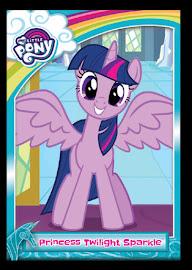 MLP Twilight Sparkle Series 5 Trading Card