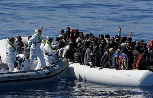 Unos 100 mil refugiados han cruzado el Mediterráneo en 2017