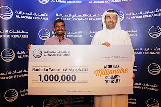 Construction worker becomes the new millionaire of 'Al Ansari Rewards – Summer Promotion 2016'