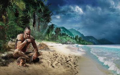 Far Cry 3 Plage Vaas - Fond d'Écran en Full HD 1080p