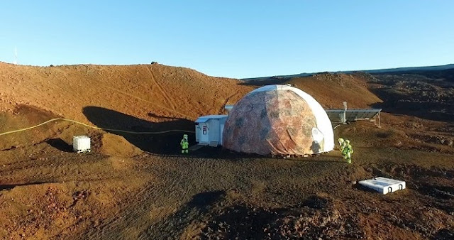 The HI-SEAS dome