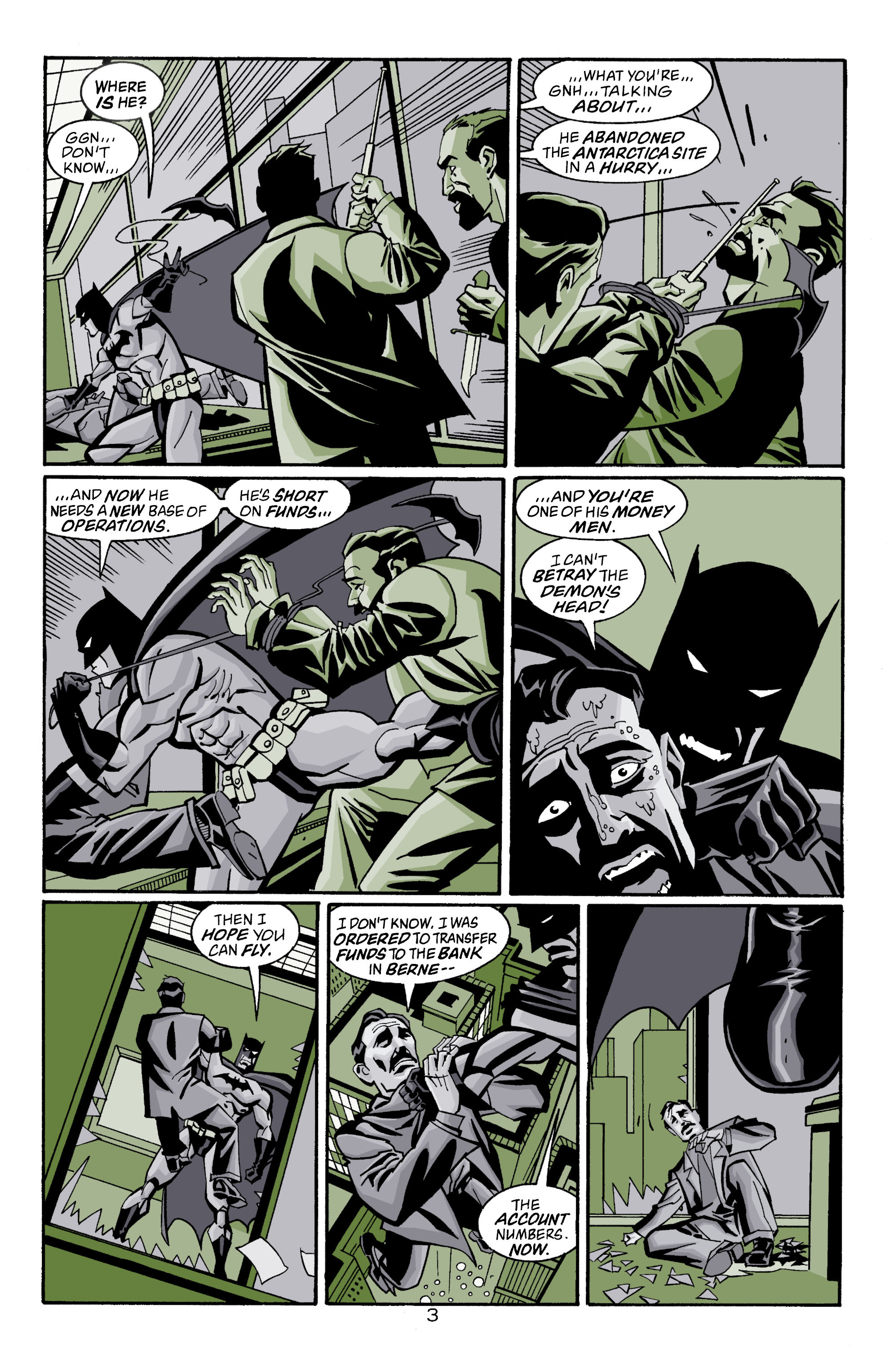 Detective Comics (1937) 750 Page 3