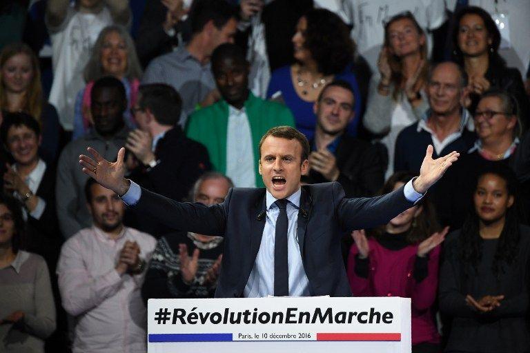 Resultado de imagen de macron revolucion en marcha