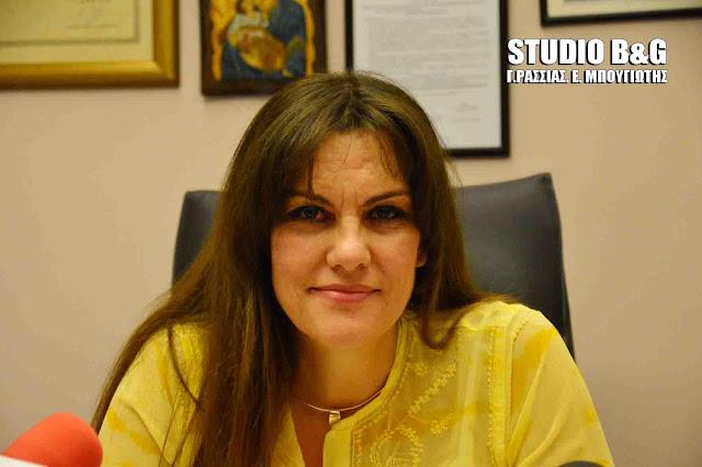 Παραίτηση της Ελένης Παναγιωτοπούλου από Θεματική Αντιπεριφερειάρχης Πελοποννήσου Δημ Υγείας, Πολιτισμού και Παιδείας