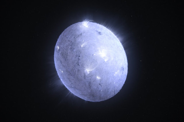 There is a planet that may be made entirely out of diamonds in the Space.