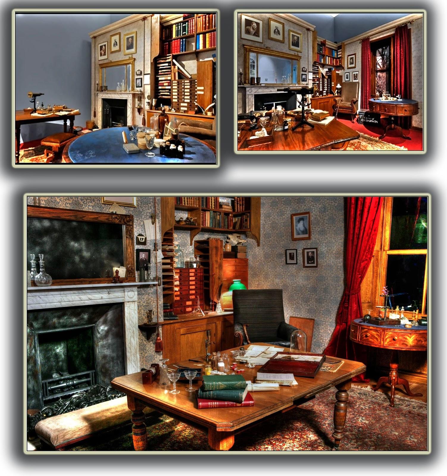 Down House - Studio di Charles Darwin