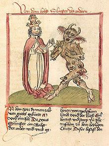 Silvestre II y el diablo (1460)