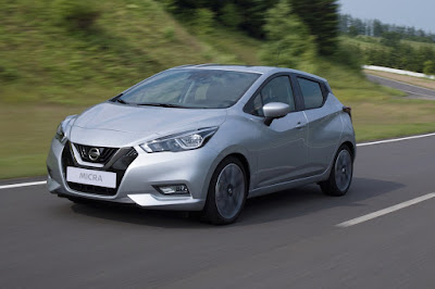 Nissan Micra 2017 test drive in road