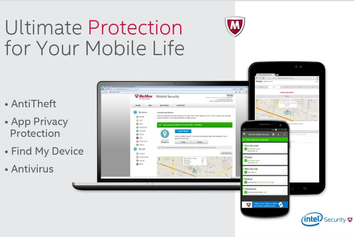 McAfee Antivirus & Security APK Free Download