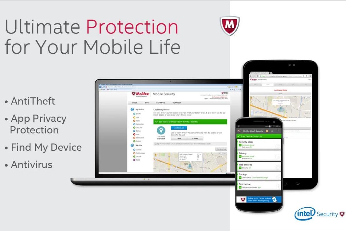 McAfee Antivirus & Security APK Free Download