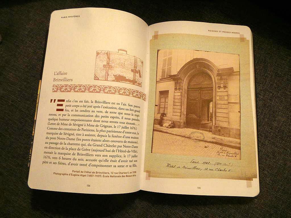 Paris myst res le livre qui vous d voile les secrets de for Les secrets de paris