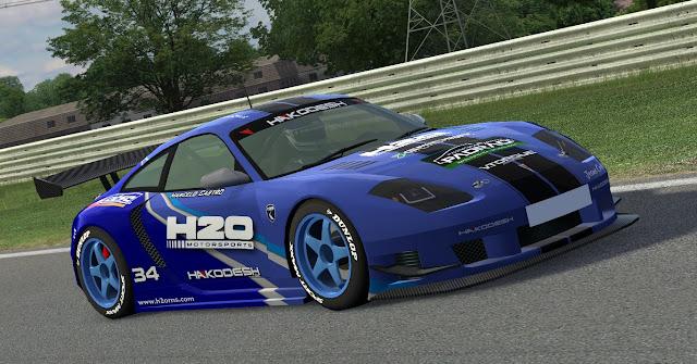Carros da H2O prontos para o 'GTR Challenge' Lfs_00001112