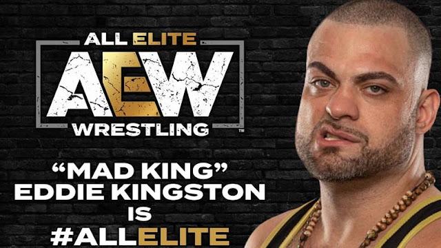 Eddie Kingston assina com a AEW
