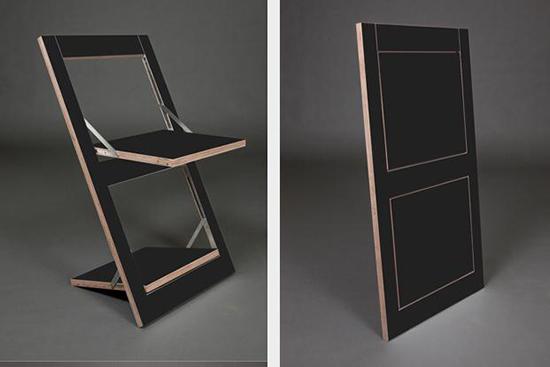 14 contoh kursi lipat kreatif dari plywood