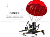 Hubsan H109S Parachute Fail Safe