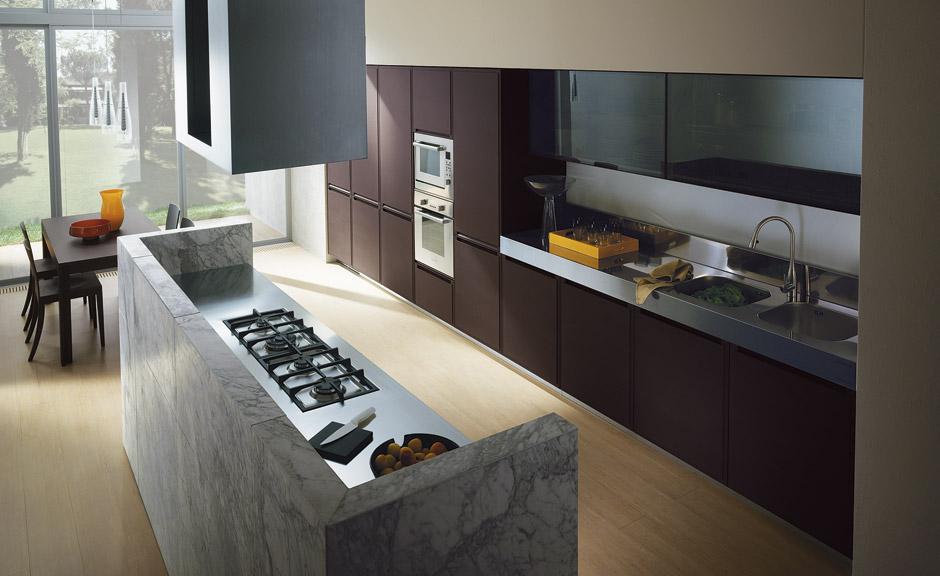 La isla y la peninsula en las cocinas for Idee per dividere cucina e soggiorno