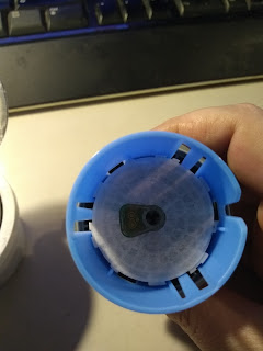 sensor applicator with cap removed