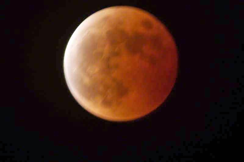 Oct 2012 Blood Moon over Okinawa