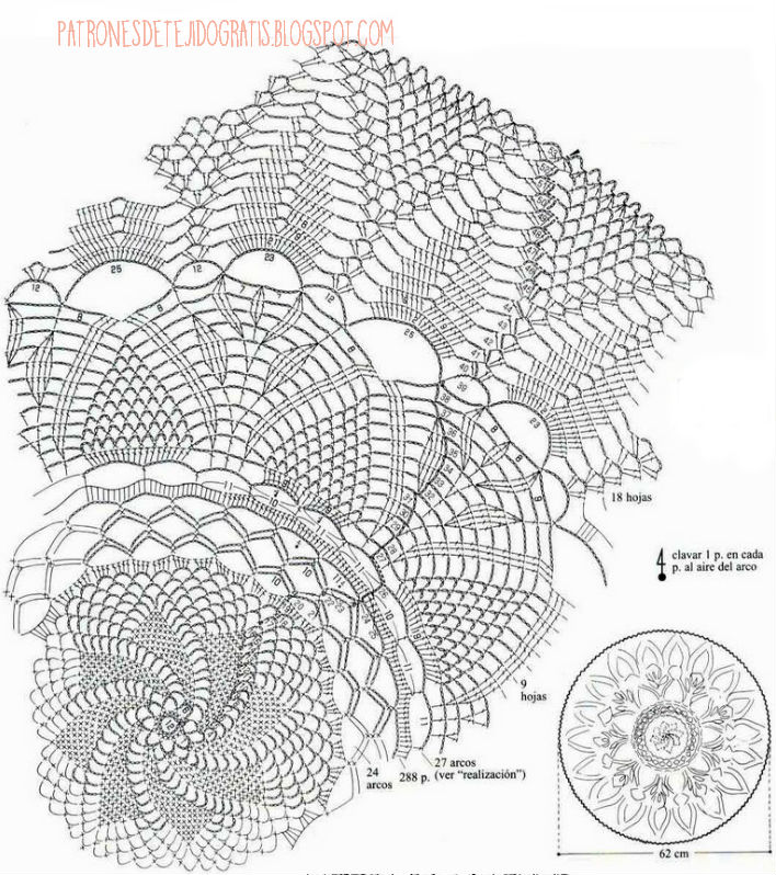 doily pattern crochet