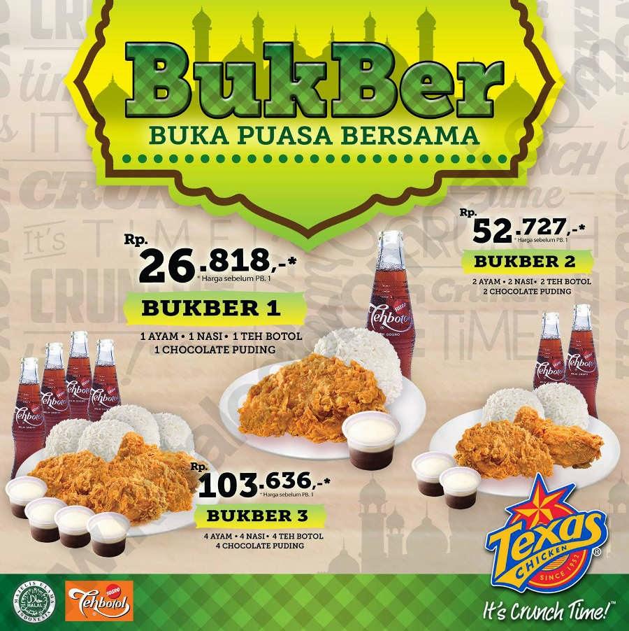 Paket BukBer Texas Chicken Ramadhan 2018