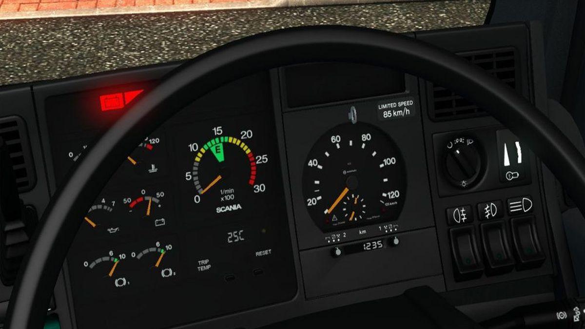 Scania 4 Series Gauges