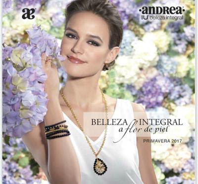 Catalogo Andrea IU Maquillaje 2017