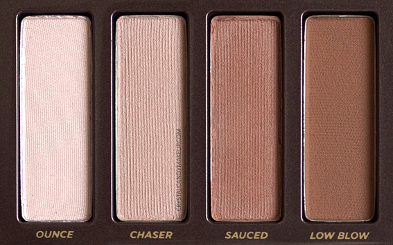 Urban Decay Naked Heat Palette Review Ounce Chaser Sauced Low Blow