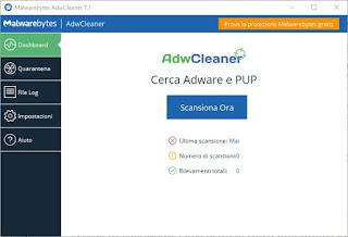 Tool AdwCleaner