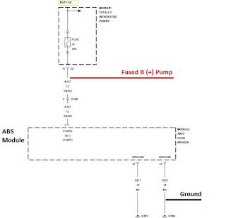 C1073 ABS Pump Motor Control Circuit