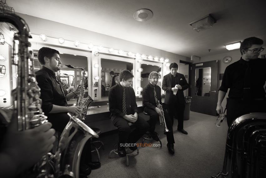 Fine Art Jazz Music Back Stage Live Event Photography - Sudeep Studio Ann Arbor Music Photographer