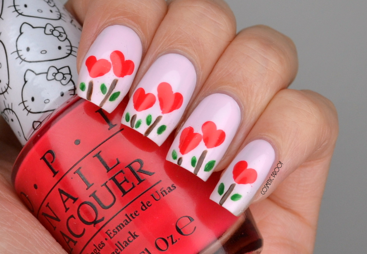 NAILS | A Garden of Hearts #ManiMonday | Cosmetic Proof | Vancouver ...