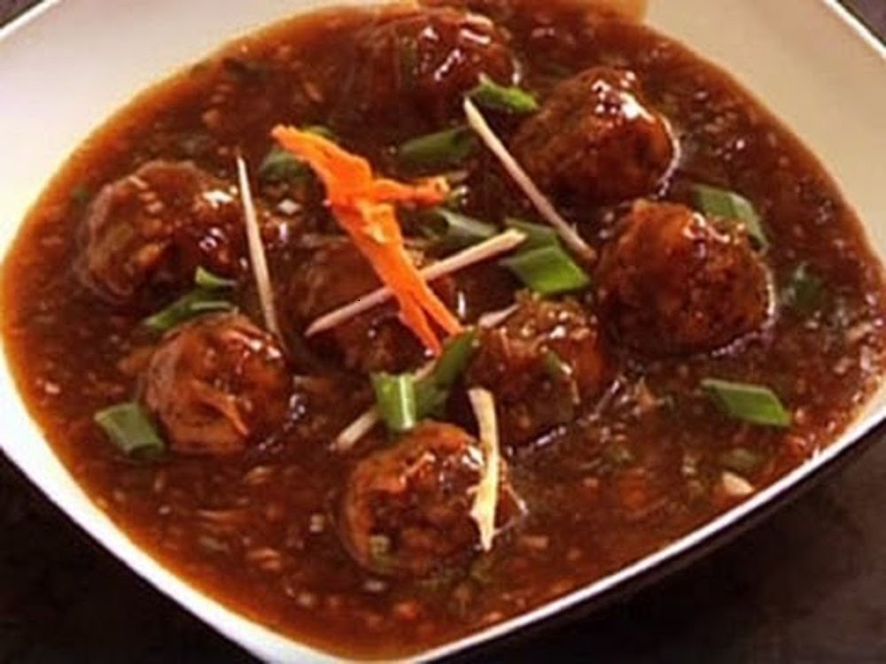 My kitchen carnival delicious and quick food recipes veg veg manchurian is yet another chinese recipe it is delicious soupy and spicy recipe prepared with various vegetable like capsicum cabbage carrot forumfinder Image collections