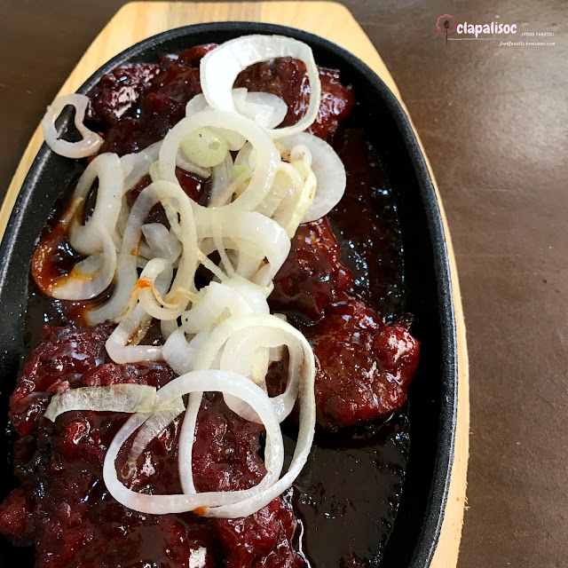 Sizzling Beef Tenderloin Chinese Style from Mei Wei Chinese Kitchen