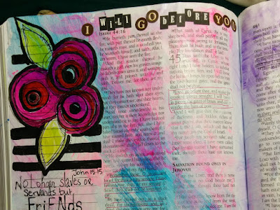 Bible Art Journaling, Bible Art, Illustrated Faith