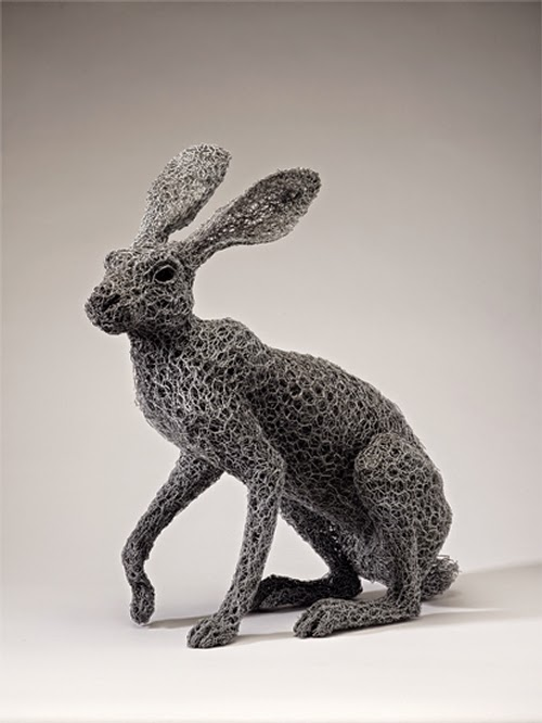 05-Arizona-Jackrabbit-Kendra-Haste-Galvanised-Wire-Animal-Sculptures-www-designstack-co