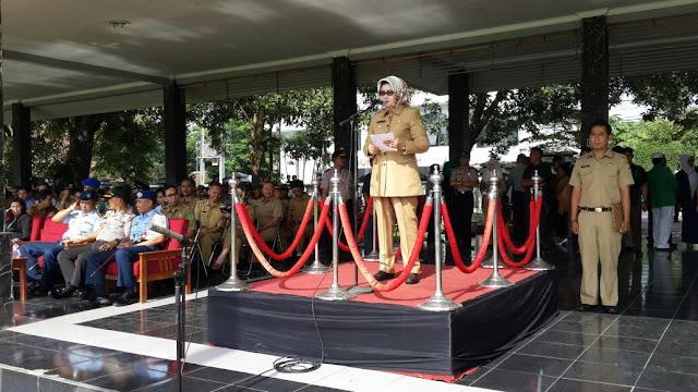 Plt Bupati Subang Pimpin Apel Kebhinnekaan Cinta Damai