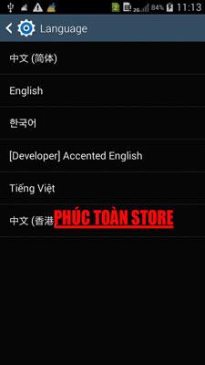 Tiếng Việt Samsung N9009 alt