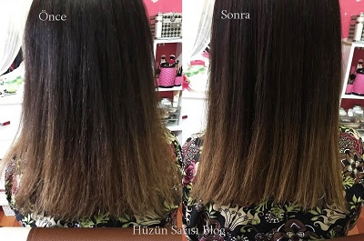 saç botoksu nasıl uygulanır