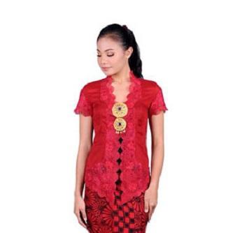 Baju Kebaya Kartini Brokat Tradisional