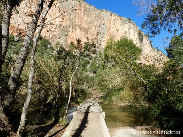 Cañón del Turia, Chulilla
