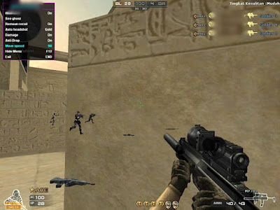 cheat CROSSFIRE Ina