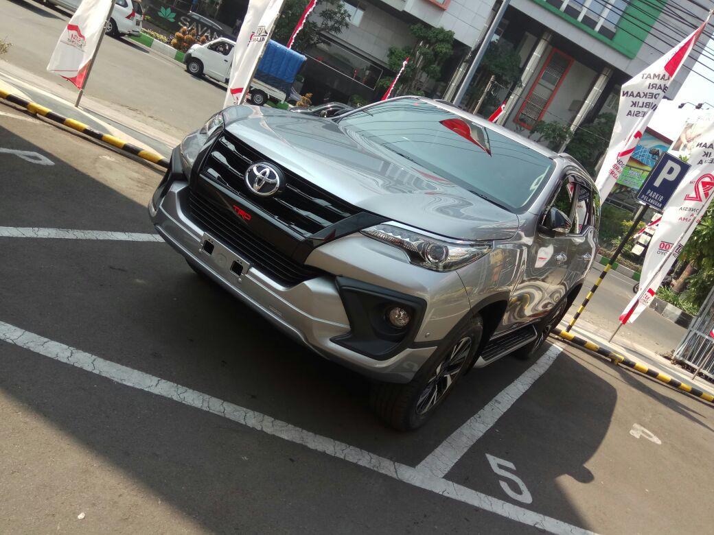 New Fortuner Trd Malang Toyota Kartika Sari Booking Fee Agya A T Giias 2018